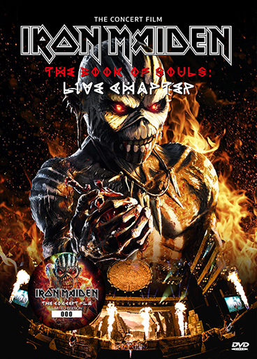 IRON MAIDEN - THE BOOK OF SOULS: THE CONCERT FILM DVD