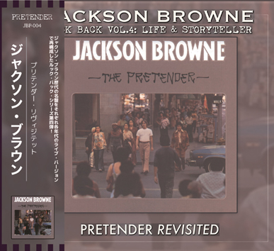 JACKSON BROWNE - THE PRETENDER REVISITED: LOOK BACK VOL.4 (1CDR)