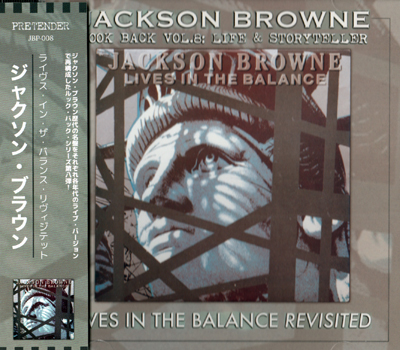 JACKSON BROWNE - LIVES IN THE BALANCE REVISITED: LOOK BACK VOL.8 (1CDR)