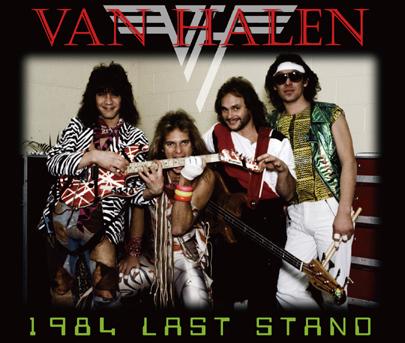 VAN HALEN - 1984 LAST STAND (4CDR)