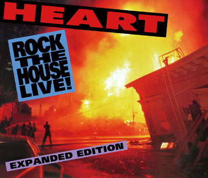 HEART - ROCK THE HOUSE LIVE!: EXPANDED EDITION (6CDR)