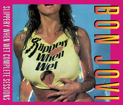 BON JOVI - SLIPPERY WHEN WET COMPLETE SESSIONS(3CDR)