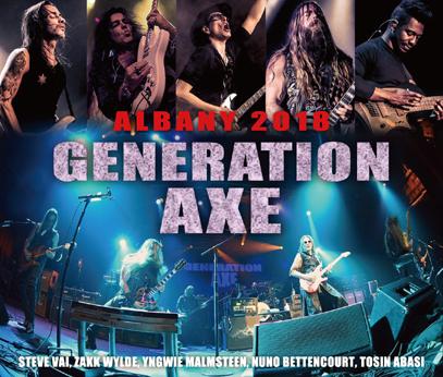 GENERATION AXE - ALBANY 2018