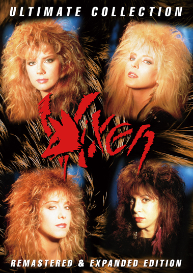 VIXEN - ULTIMATE COLLECTION: REMASTERED & EXPANDED EDITION (2DVDR)