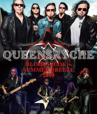QUEENSRYCHE - BLOODSTOCK + SUMMER BREEZE 2019 (1BDR)