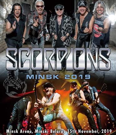 SCORPIONS - MINSK 2019 (1BDR)