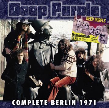 DEEP PURPLE - COMPLETE BERLIN 1971 (2CDR)