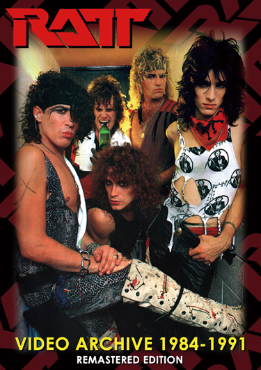 RATT - VIDEO ARCHIVE 1984-1991: REMASTERED EDITION (1DVDR)