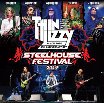 THIN LIZZY - STEELHOUSE FESTIVAL 2019 (2CDR)
