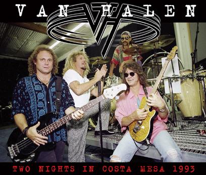 VAN HALEN - TWO NIGHTS IN COSTA MESA 1993 (4CDR)