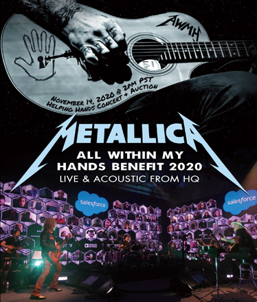 METALLICA - ALL WITHIN MAY HANDS BENEFIT 2020 (1BDR)