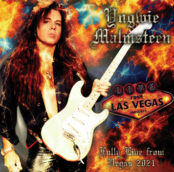 YNGWIE MALMSTEEN - FULLY LIVE FROM VEGAS 2021 (1CDR)
