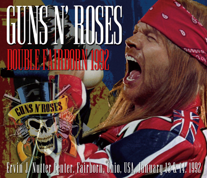 GUNS N' ROSES  - DOUBLE FAIRBORN 1992 (5CDR)