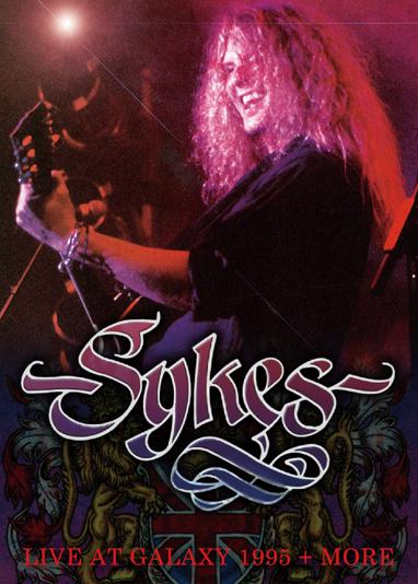 JOHN SYKES - LIVE AT GALAXY 1995 + MORE (1DVDR)