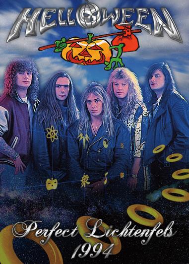 HELLOWEEN - PERFECT LICHTENFELS 1994 (1DVDR)
