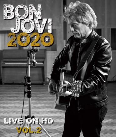 BON JOVI - 2020 LIVE ON HD VOL.2 (1BDR)