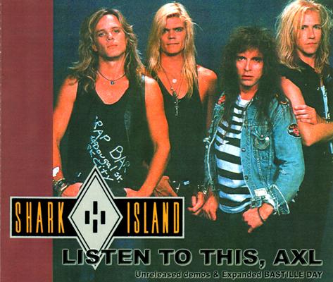 SHARK ISLAND - LISTEN TO THIS, AXL