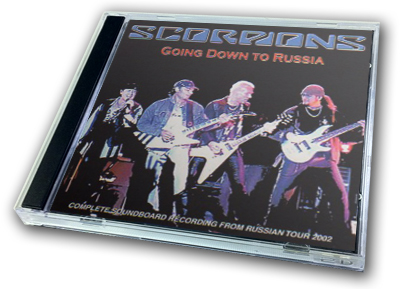 SCORPIONS - GOING DOWN TO RUSSIA