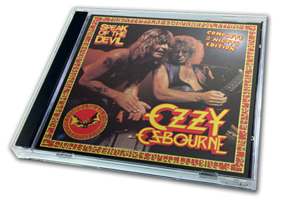 OZZY OSBOURNE - SPEAK OF THE DEVIL COMPLETE 2 NIGHTS EDITION