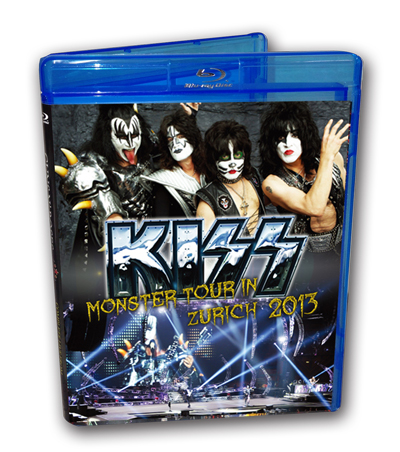 KISS - MONSTER TOUR IN ZURICH 2013 -Blu -ray-