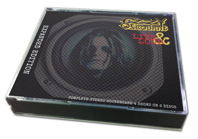 OZZY OSBOURNE - LIVE & LOUD : EXPAND EDITION