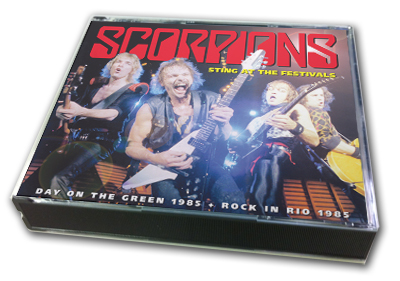 SCORPIONS - STING AT THE FESTIVAL