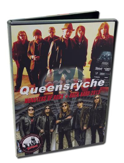 QUEENSRYCHE - MONSTERS OF ROCK + ROCK HARD 2013