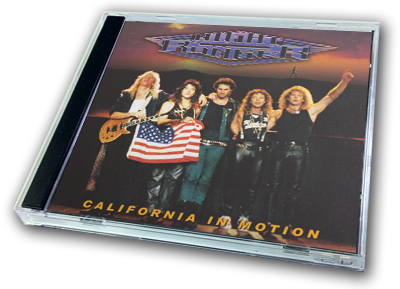 NIGHT RANGER - CALIFORNIA IN MOTION