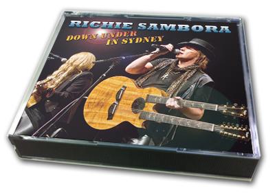 RICHIE SAMBORA - DOWN UNDER IN SYDNEY