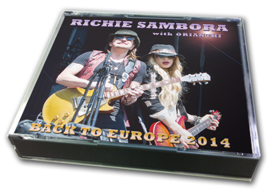 RICHIE SAMBORA - BACK TO EUROPE 2014