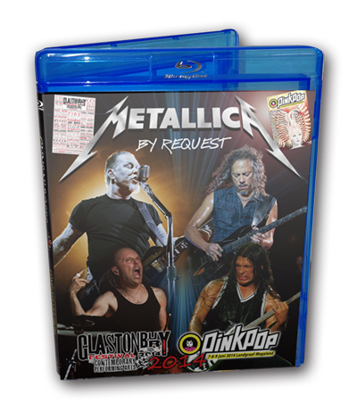 METALLICA - GLASTONBURY 2014 + PINKPOP 2014