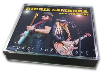 RICHIE SAMBORA - SONGS FOR EUROPE