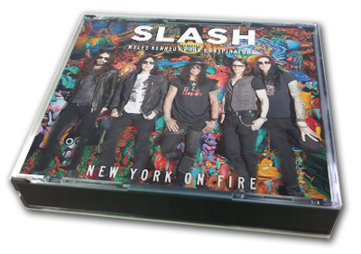 SLASH - NEW YORK ON FIRE