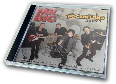 MR.BIG - JAVA ROCKIN' LAND 2009
