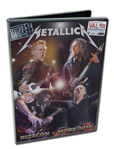 METALLICA - BLIZZCON + MORE 2014