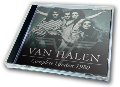 VAN HALEN - COMPLETE LONDON 1980
