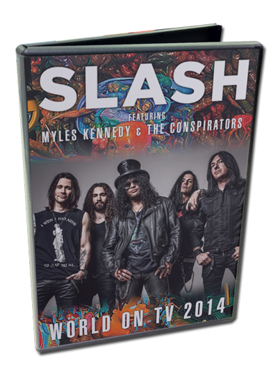 SLASH - WORLD ON TV 2014