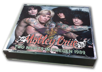 MOTLEY CRUE - TWO NIGHTS IN SWEDEN 1989