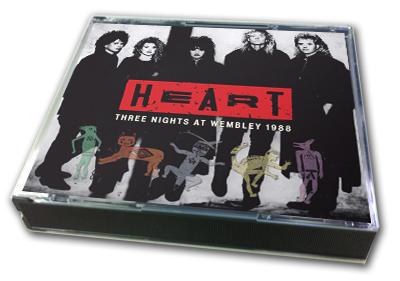 HEART - THREE NIGHTS AT WEMBLEY 1988