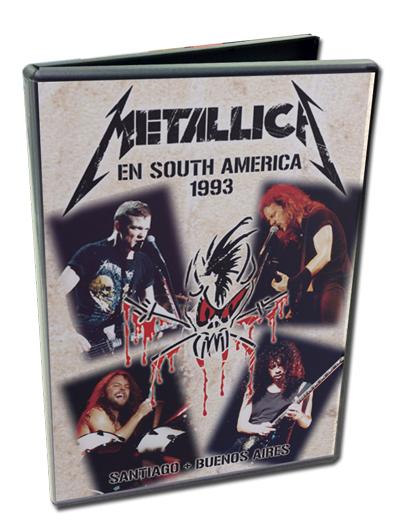 METALLICA - EN SOUTH AMERICA 1993