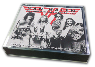VAN HALEN - TWO NIGHTS IN SAN FRANCISCO 1982