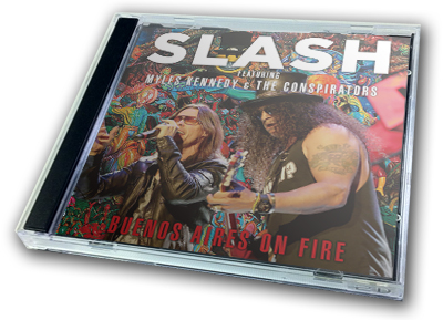 SLASH - BUENOS AIRES ON FIRE