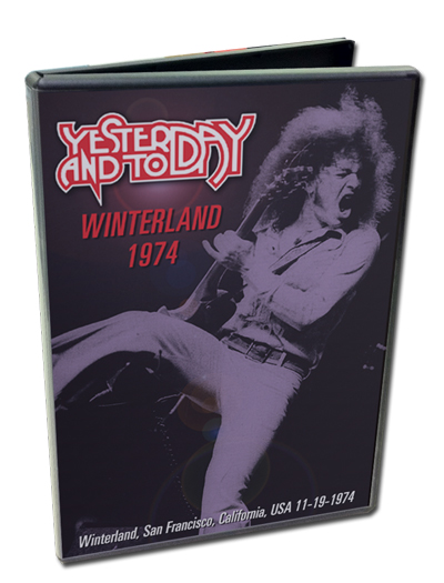YESTERDAY & TODAY - WINTERLAND 1974