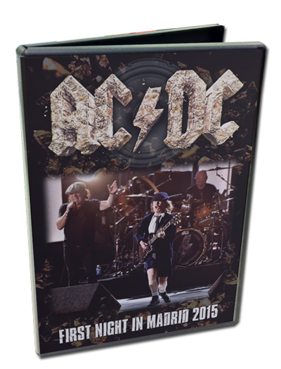 AC/DC - FIRST NIGHT IN MADRID 2015