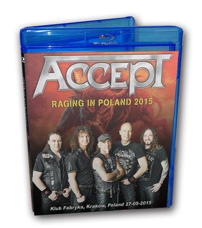 ACCEPT - RAGING IN POLAND 2015