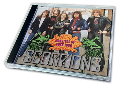 SCORPIONS - MONSTERS OF ROCK 1980
