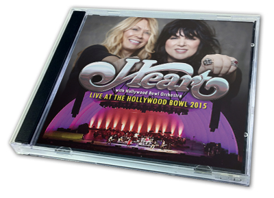 HEART - LIVE AT THE HOLLYWOOD BOWL 2015