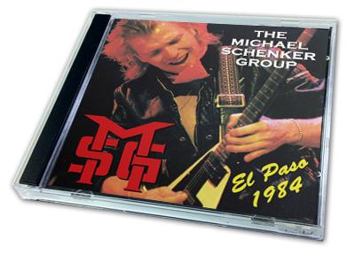 MICHAEL SCHENKER - EL PASO 1984