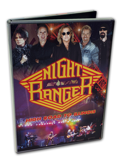 NIGHT RANGER - HIGH ROAD TO ILLINOIS