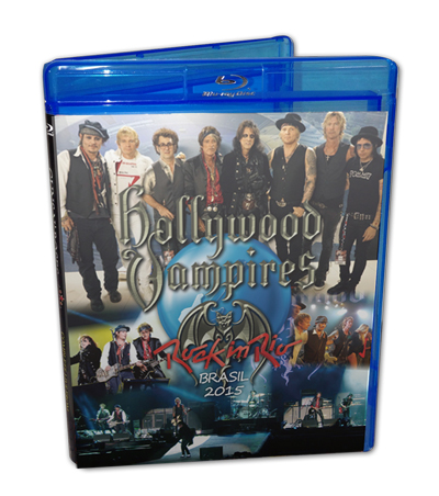 HOLLYWOOD VAMPIRES - ROCK IN RIO BRAZIL 2015